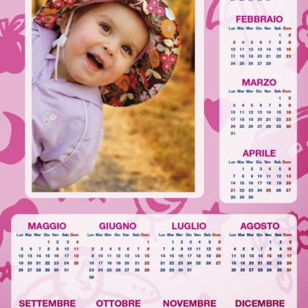Stampa su Calendario