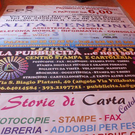 Banner Pvc Occhiellato e Rinforzato